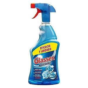Glassex - Limpiador multiusos y cristales, formato pistola spray - 750 ml