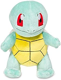Pokemon Center Squirtle Poké Plush (Standard Size) - 7 1/4""