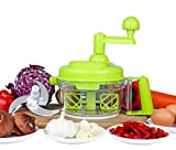Tenta Kitchen 3.2-Cup/800ml Hand Crank Food Processor/Manual Food Chopper/Meat Grinder/Vegetable Dicer And Mincer/Fruit Blender With Egg Separator …