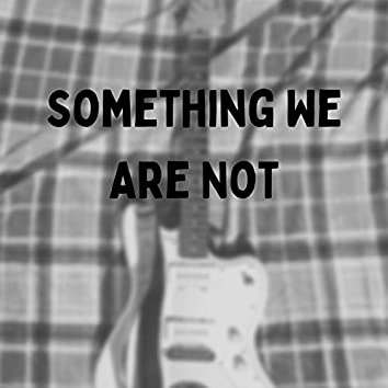 Something We Are Not