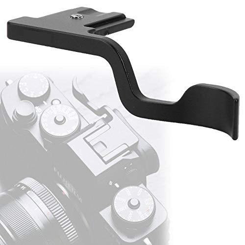 Topiky Poignée Noire en Alliage d'Aluminium Thumb Up pour la Caméra Fuji XT30 X-T30 pour FujiFilm X-T1 / X-T2 / X-T3 pour FujiFilm X-T10 / X-T20 / X-T30