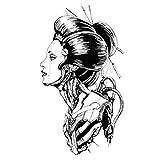 YLGG Etiquetas engomadas temporales del Tatuaje de la Moda de la Belleza, adecuadas para Hombres y Mujeres, Impermeables, extraíbles