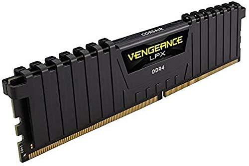 Corsair Vengeance LPX 32GB (2 x 16GB) DDR4 3600 (PC4-28800) C18 1.35V Desktop Memory - Schwarz