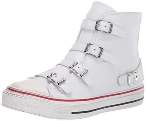 ASH Women's AS-Virgin Sneaker, White, 39 M EU (9 US)