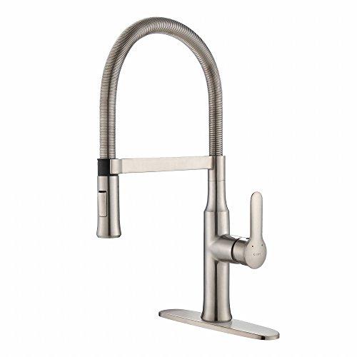Kraus KPF-1640SS Nola Kitchen Faucet, KPF-1640 Stainless Steel