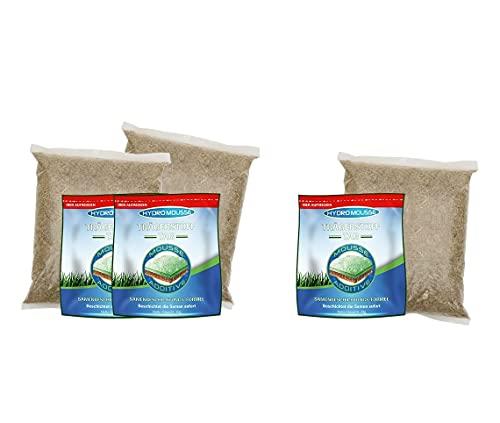 Mediashop Hydro Mousse Nachfüllpack für bis zu 60m²   Gras-Saat zum Nachfüllen  geeignet für Hydro Mousse Begrünungssystem   Das Original aus dem TV
