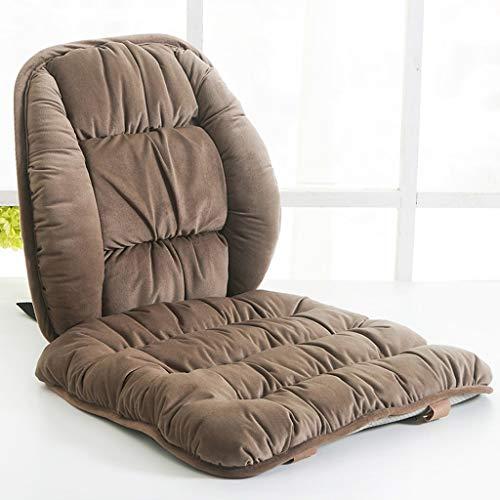 QIANGU Cojín Cojines for sillas Asiento Exterior con Respaldo bajo Relleno Uno Cuerpo Invierno Mantener Caliente Almohadilla Burbuja for sofá/Coche/Oficina/Asiento
