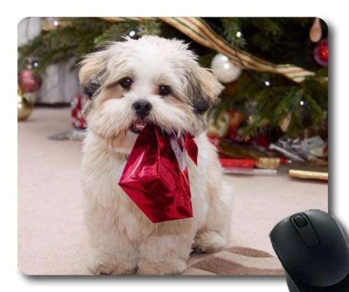Gaming-Mauspad, ideal für Hundeweihnachtshunde, Präzisionsnaht, Robuste Mausunterlage