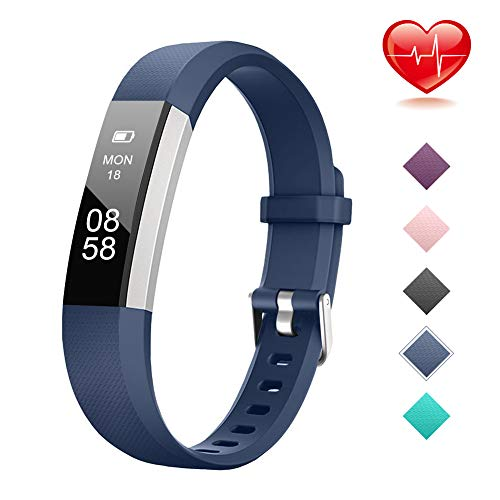 Lintelek Fitness Tracker for Kids Girls Boys Teenagers, Activity Tracker with Heart Rate...
