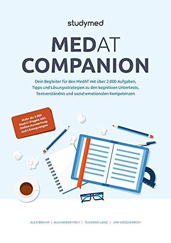 MedAT Companion: Dein Begleiter für den MedAT 2022 mit über 2000 Aufgaben