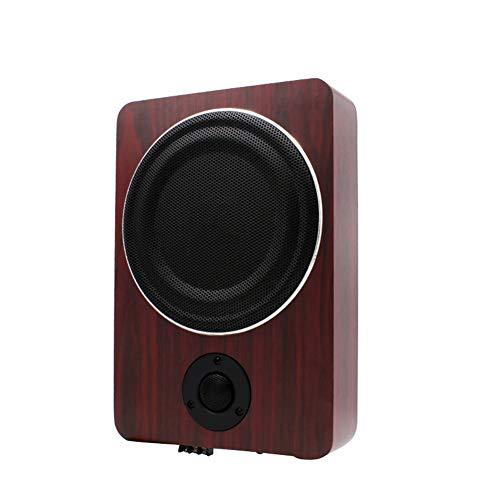 LYzpf Auto Subwoofer Stereo Audio apparatuur 8 inch 600W High Power tweeters Ultradunne houten Materiaal luidspreker Spelers