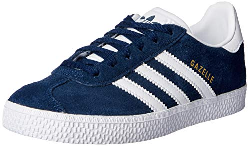 adidas Gazelle J, Baskets Basses Mixte, Collegiate Navy/Footwear White/Footwear White, 38 EU