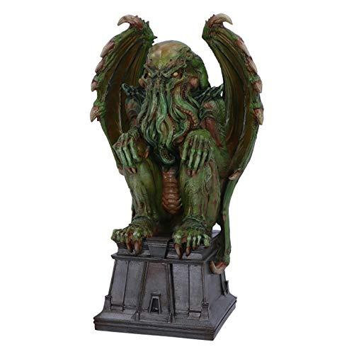 Nemesis Now James Ryman Figura Decorativa, diseño de Cthulhu, Verde, 32 cm