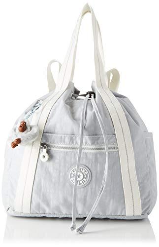 41q6da8DoIL - Kipling - Art Backpack S, Mochilas Mujer, Gris (Active Grey Bl)
