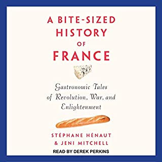 A Bite-Sized History of France audiobook cover art