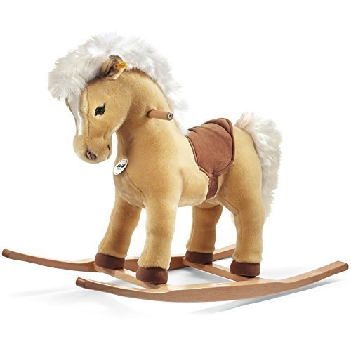 Great Features Of Steiff 70cm Franzi Riding Pony (Blond) by Steiff