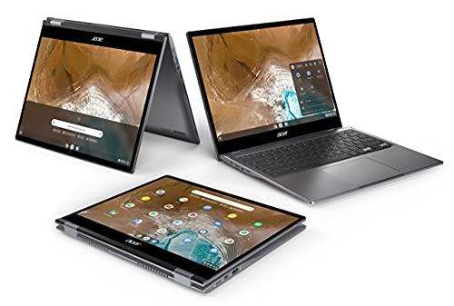 Acer Chromebook Convertible 13 Zoll (CP713-2W-541X) (ChromeOS, QHD Touch-Display, bis zu 10 Stunden Akku-Laufzeit, Tastatur beleuchtet, Aluminium; 1,4 Kg leicht, 17mm dünn) Premium Chromebook - 2