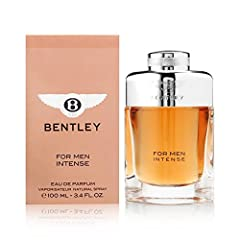 Bentley for Men Intense by Bentley 3.4 oz Eau De Parfum Spray This item is not a tester Packaging may slightly vary