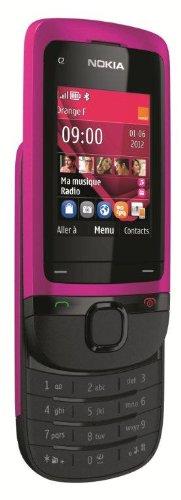 "Nokia C2-05 - Móvil libre (Pantalla 2"", cámara 0.3 Mp), rosa"