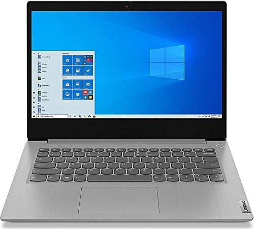 Lenovo (14 Zoll FullHD IPS matt) Laptop IdeaPad (Intel Core i3-1005G1 Dual Core, 8GB DDR4 RAM, 512GB M.2 SSD, Intel UHD, WLAN, Bluetooth, HDMI, USB 3.0, Windows 10 Pro) grau
