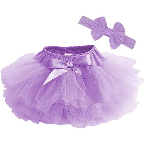 Dancina Baby Bloomer Romper Tutu Skirt Ages 6-24 Months Lavender