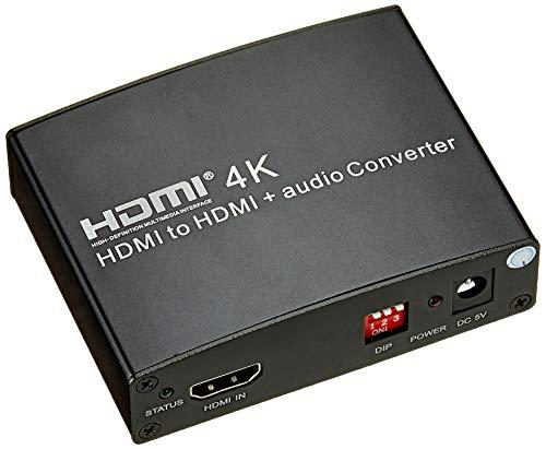 PremiumCord HDMI 4K Repeater/Extender Audio Extractor ondersteunt 4K HDMI