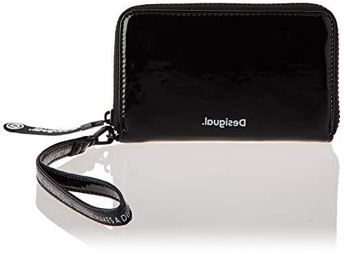 Desigual Accessories PU Medium Wallet, Donna, Nero, U