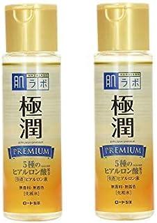 Hadalabo Japan Skin Institute Gokujun Premium Hyaluronic Solution 170 (Pack of 2)