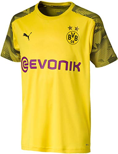 PUMA Youth Borussia Dortmund Official Training Jersey Medium, Cyber Yellow