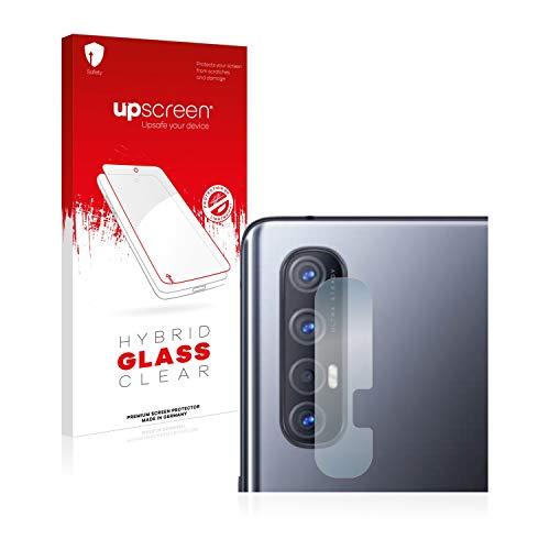 upscreen Hybrid Glass Panzerglas Schutzfolie kompatibel mit Oppo Find X2 Neo (Kamera) 9H Panzerglas-Folie