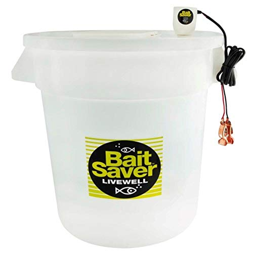 Marine Metal PBC-20 20-Gallon Bait Saver Livewell System, White Finish