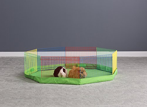 Prevue Pet Products Multi-Color Small Pet Playpen 40090,13-Inch