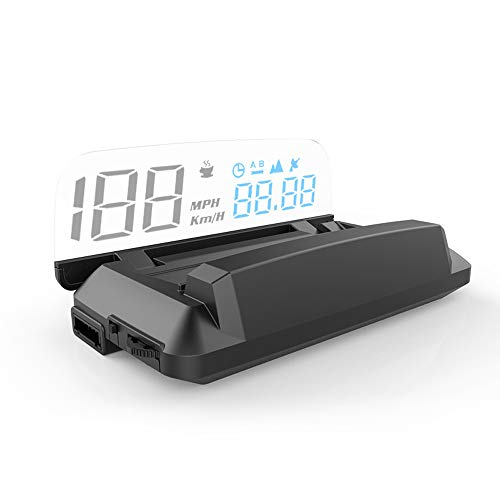 GoolRC Heads-up Display for Car Global Positioning System Satellites Speed General-Purpose Car and Trucks Car Speed Projector