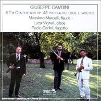 6 Trii Concertanti Op. 45 Per by GIUSEPPE CAMBINI (2000-11-21)