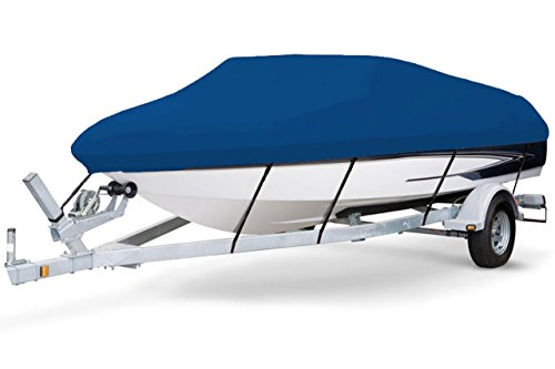 Affordable 7 oz Solution Dyed Polyester Blue, Styled to FIT Boat Cover for Sailfish 246 WAC Single O...