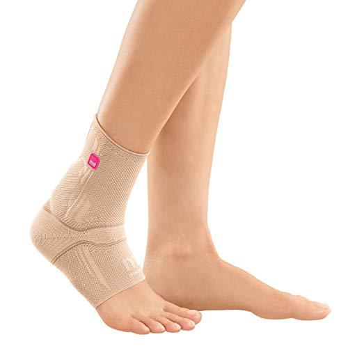medi Achimed - Achillessehnenbandage unisex | sand | Größe V | Bandage zur Entlastung der Achillessehne | Beidseitig tragbar