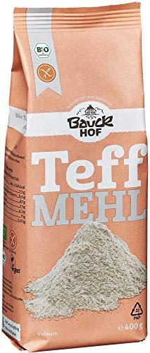 Bauckhof Bio Bauck Bio Teffmehl, glutenfrei (6 x 400 gr)