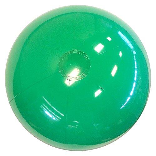 Beachballs - 16'' Solid Green Beach Ball
