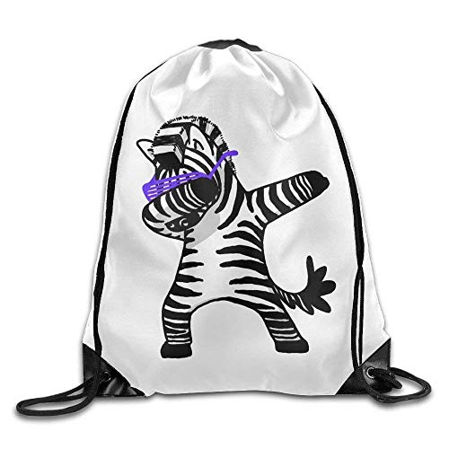 uykjuykj Tunnelzug Rucksäcke, Classic Dabbing Panda.PNG Drawstring Bags Yoga School Multifunction Backpack Pattern 7 Lightweight Unique 17x14 IN