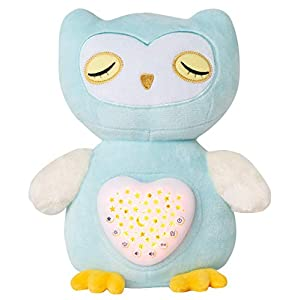 Baby Sleep Aid with Cry Sensor, Olele Baby Sleep Soothers, Baby Sound Machine Toys, Night Light Soother, Baby Girl & Baby Boy Gifts for Shower & Registry, Baby Nursery Soother for Infant (Owl)