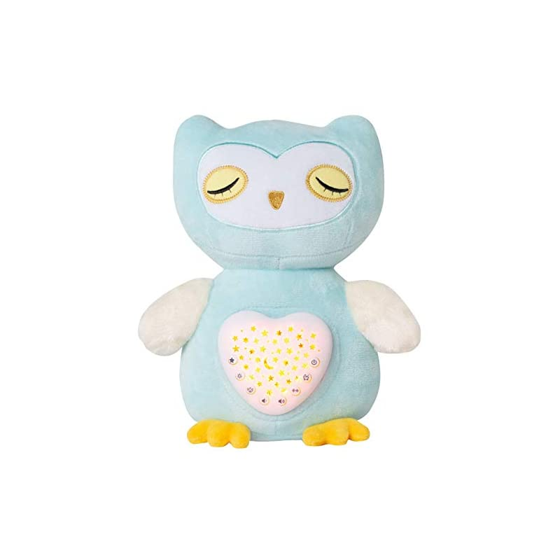 crib bedding and baby bedding baby sleep aid with cry sensor, olele baby sleep soothers, baby sound machine toys, night light soother, baby girl & baby boy gifts for shower & registry, baby nursery soother for infant (owl)