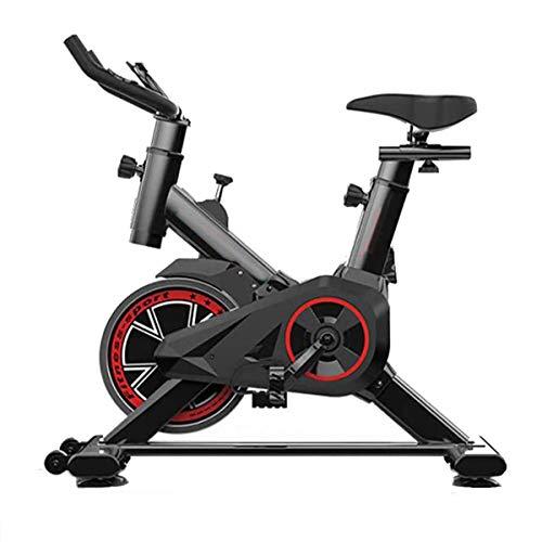 WJFXJQ Ejercicio Bicicleta estática, Entrenamiento aeróbico Ajustable magnética Resistencia Inicio Bicicleta estática, Ultra silencioso Vuelta Resistencia estacionario Infinito Bici (43x33x18inch)