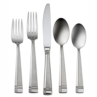 Oneida Amsterdam 45-Piece Flatware Set, Service for 8