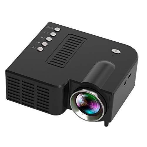 Vpicuo Mini Portable LED Projector 1080P Multimedia Home Cinema Theater Video Projectors