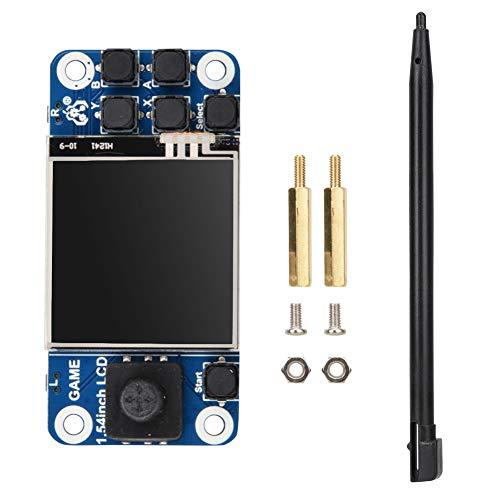 ASHATA Pantalla táctil de Pantalla Raspberry Pi, Mini Consola de Juegos Pantalla táctil LCD de 1.54 Pulgadas para Raspberry Pi, Soporte de Pantalla de Juego Raspberry Pi 2B/3B +/Zero W.