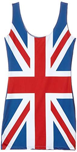 Leg Avenue- British Flag Dress Disfraz para Mujer, Multicolor, Extra-Small (86909 10125)