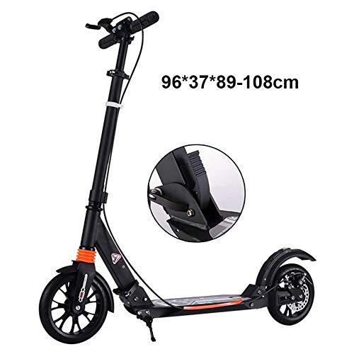 WHYTT Scooters de Seguridad Plegables para Adultos, Scooters