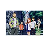 IEJDA Anohana The Flower We Saw That Day Poster,