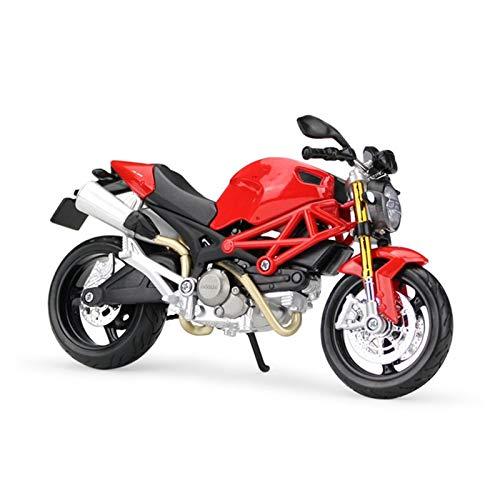 CYPP 1/12 para Ducati Monster 696 Scale Classic Motorbike Series Diecast Metal Motorcycle Modelo Colección Regalo De Juguete Niños