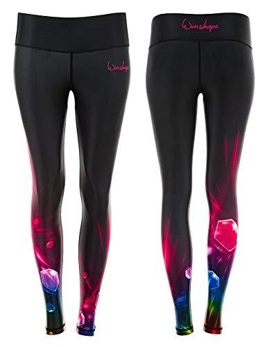 WINSHAPE Damen Functional Power Shape Tights AEL102, Cosmic, Slim Style Leggings, M